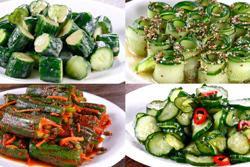 一條小黃瓜,神奇大變化-中華料理
