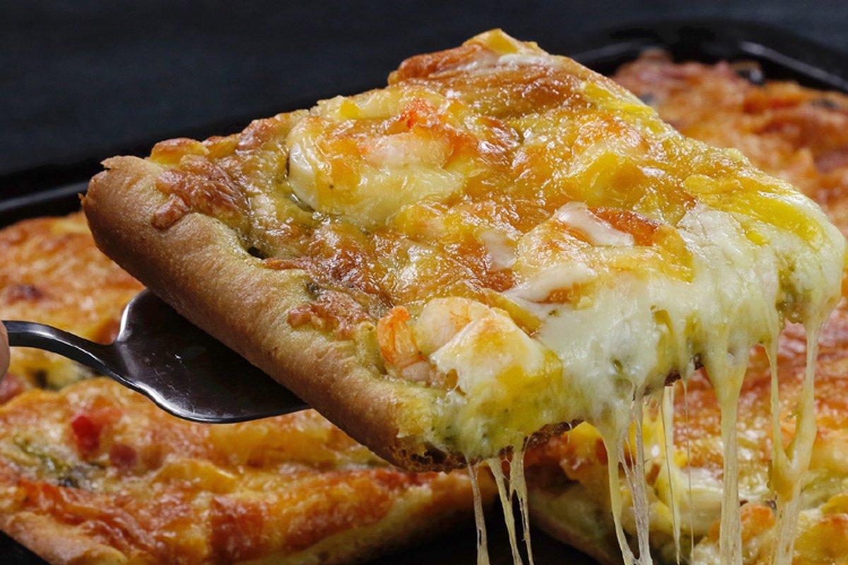 麵糰成功,海陸披薩怎麼做都好吃