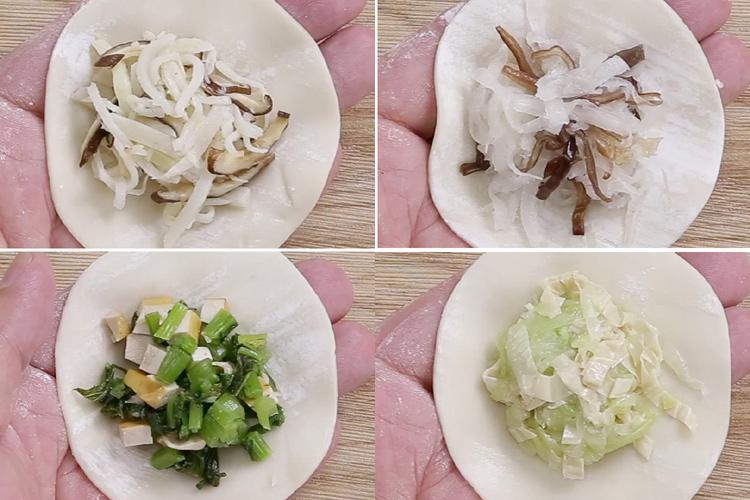 超乎美味!蔬菜水餃餡也可以很好吃-中華料理