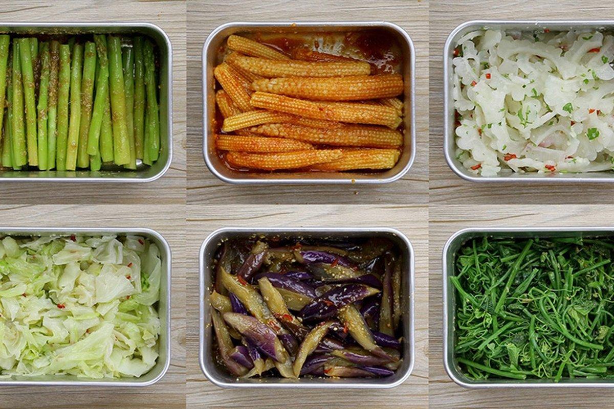 涼拌蔬菜好吃秘訣!