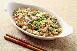 紅燒嫩豆腐-中華料理