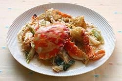 芙蓉炒蟹與螃蟹處理的秘訣