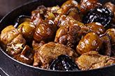 栗子燒雞淋在飯上,人間美味!好吃必推!