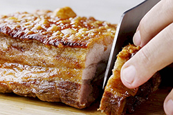 脆皮燒肉,原來用烤箱就可以變出來!-中華料理