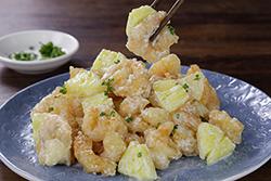 鳳梨蝦球-中華料理