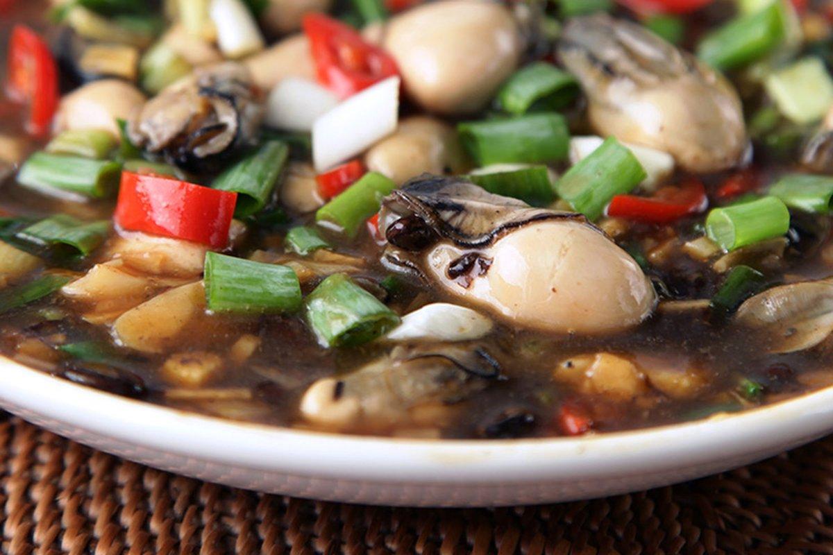 豆豉鮮蚵下飯魅力無法擋