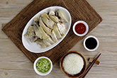每粒米吸收飽滿雞湯的海南雞飯