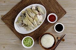 每粒米吸收飽滿雞湯的海南雞飯-中華料理