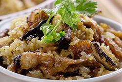 原來微波爐可以做油飯!-中華料理