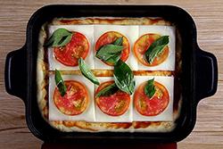 蒸汽烤盤做披薩,讓餡料飽滿不乾癟-中華料理