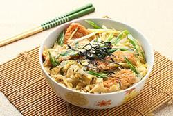 日式豬排蓋飯-日韓南洋料理