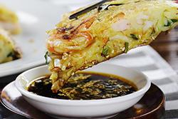 海鮮煎餅酥脆爆表的秘訣!-中華料理