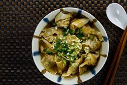 6種餛飩包法-中華料理