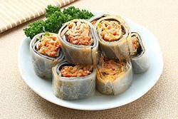 河粉皮捲壽司-中華料理