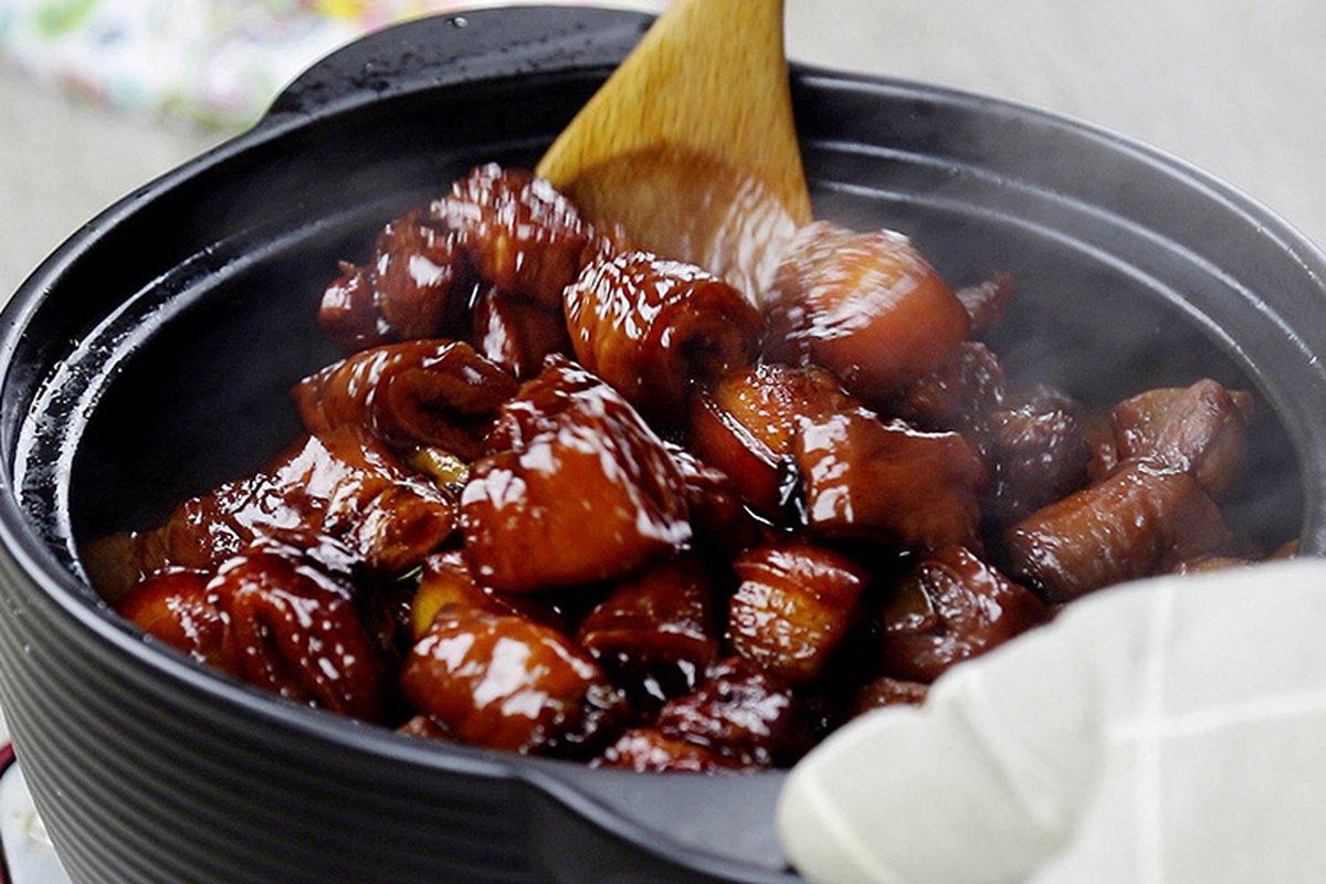 本幫紅燒肉,第一次做就成功!-中華料理