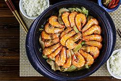 4道一鍋到底 蝦料理-中華料理
