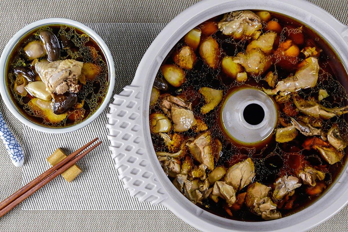 用蒸氣把食材原汁和營養煲出來!