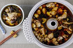 用蒸氣把食材原汁和營養煲出來!-中華料理