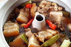 汽煲鍋滷肉-中華料理