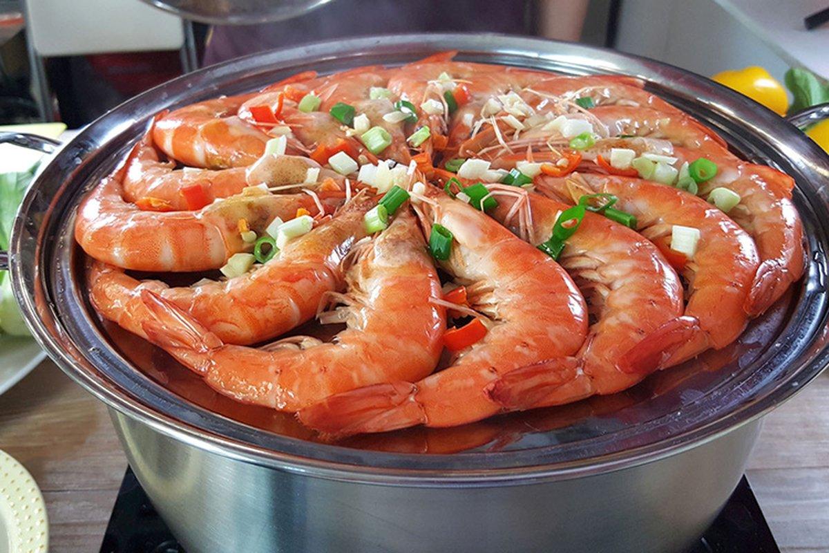 神奇蒸盤蒸籠組,爆紅蒸汽海鮮鍋
