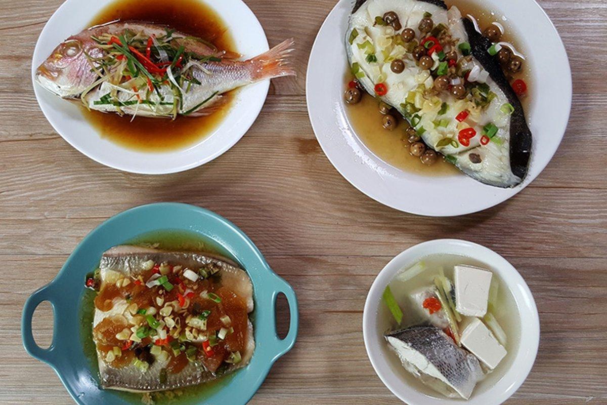 四種魚料理,一次學會!