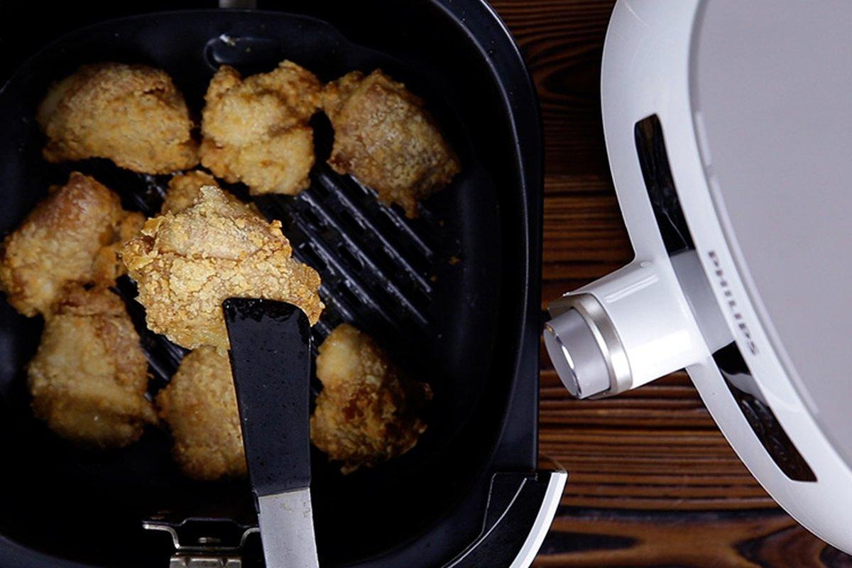 用氣炸鍋炸雞塊,少油酥脆