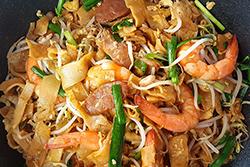 炒粿仔條,用豬油蝦油一起炒!-中華料理