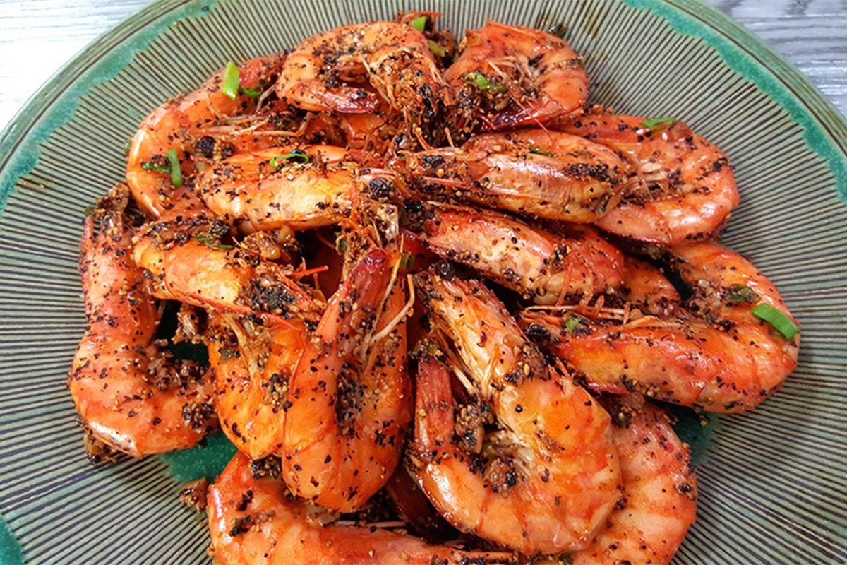 四種餐廳蝦料理