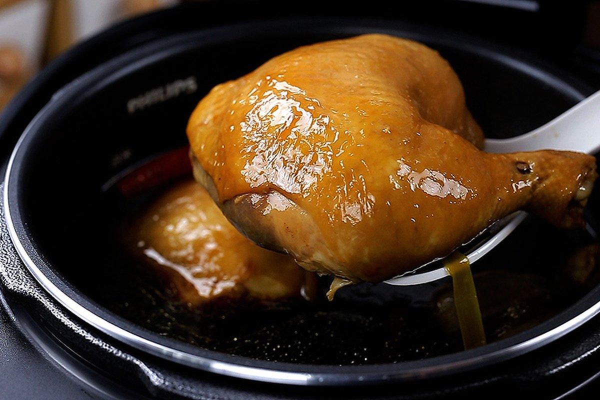 按鍵就會做菜!  六種人氣雞料理-中華料理