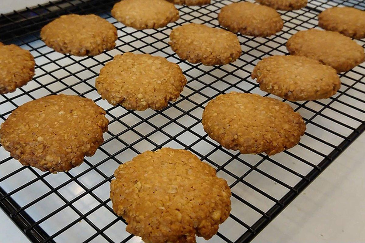 即溶燕麥片,做出這麼好吃的餅乾