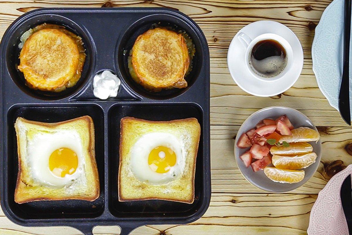 神奇早餐盤,千變萬化不失敗蛋料理!