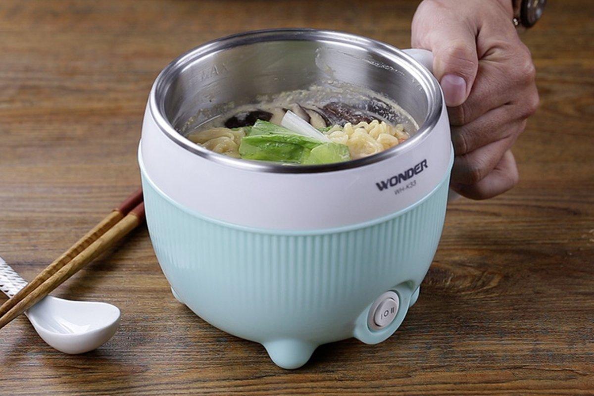懶得洗碗,就用美食鍋吧!