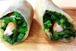 海鮮春捲好吃秘密-中華料理