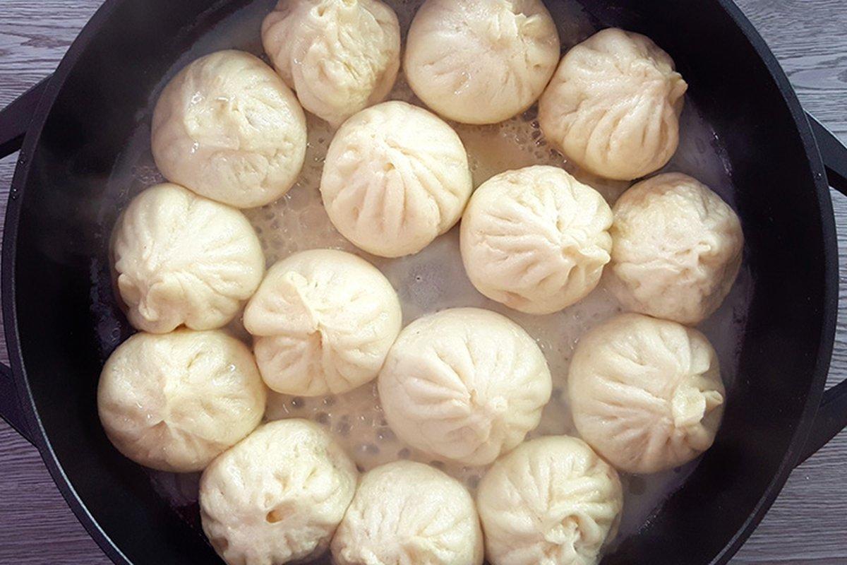 水煎包-中華料理