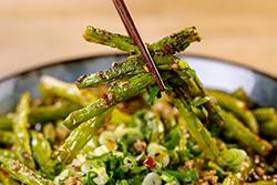 四季豆變化-中華料理