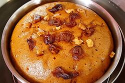來一塊桂圓蛋糕,滿滿桂圓香,超讚!!-中華料理