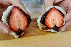 用微波爐就可以做草莓大福-中華料理