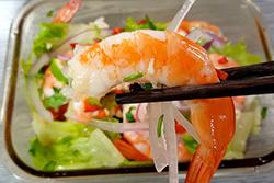 四道開胃蝦-中華料理