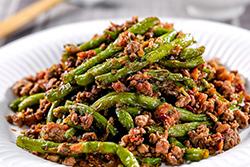 乾煸四季豆,第一次做就成功!-中華料理
