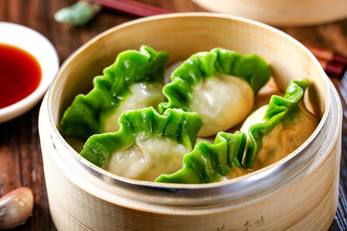 不用當皇帝,也能吃到翠玉白菜餃!