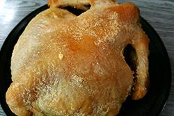 偷吃步!用氣炸鍋做鹽焗雞∼-中華料理