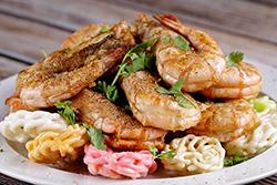 炸蝦 蝦餅雙享受-中華料理