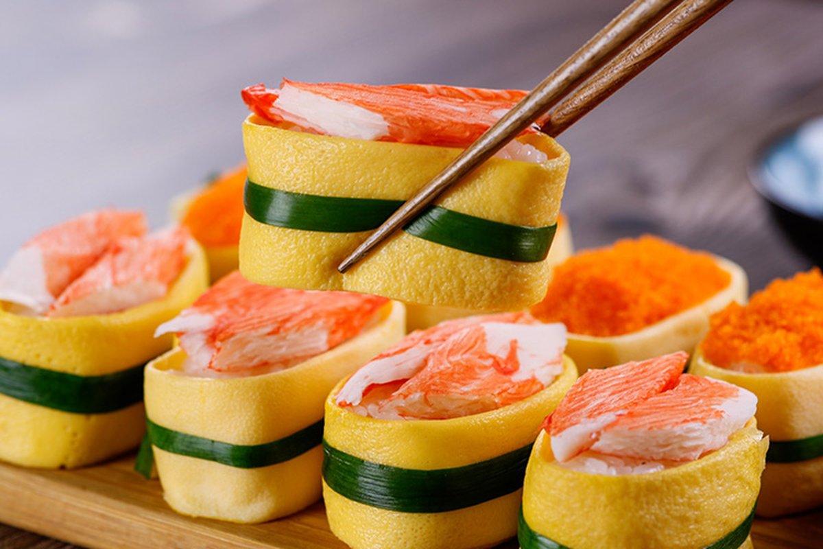 蛋皮壽司-中華料理