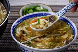 酸辣湯-中華料理