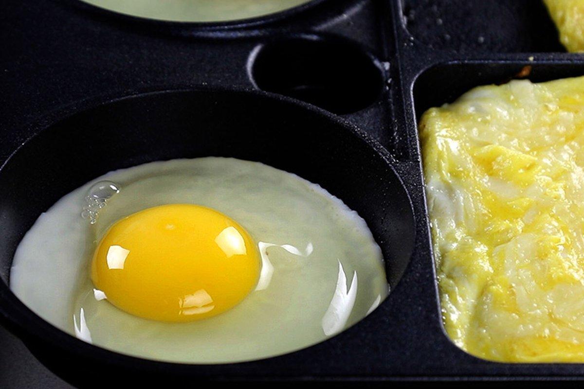用烤模煎蛋絕對不失敗