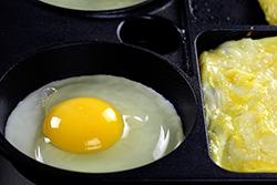 用烤模煎蛋絕對不失敗-中華料理