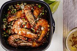 氣炸蝦-中華料理