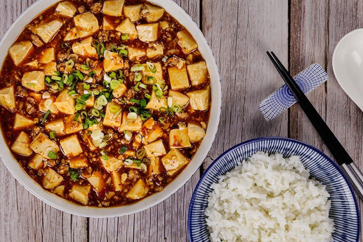 麻婆豆腐變化吃法-中華料理