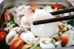 泰式涼拌花枝,冰涼下飯-日韓南洋料理