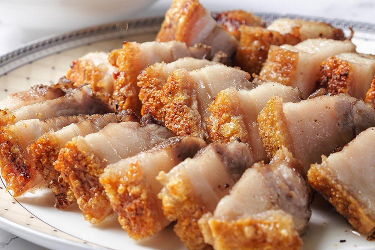 脆皮燒肉貴森森,自己做超簡單!-中華料理